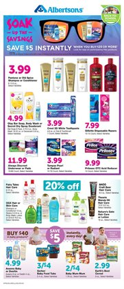 Gel deals in the Albertsons weekly ad in Los Angeles CA