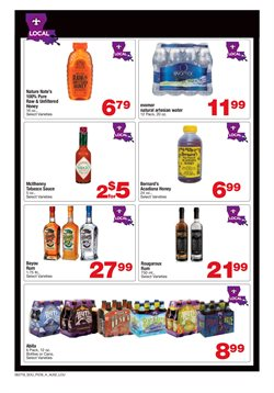 Water deals in the Albertsons weekly ad in Federal Way WA