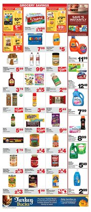 Saw deals in the Albertsons weekly ad in Tucson AZ