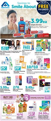Women's winter clothing deals in the Albertsons weekly ad in Los Angeles CA