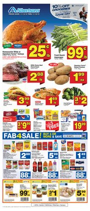 Grocery & Drug deals in the Albertsons weekly ad in Dallas TX