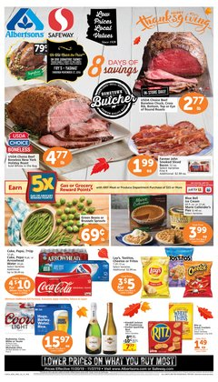 Albertsons deals in the Peoria AZ weekly ad