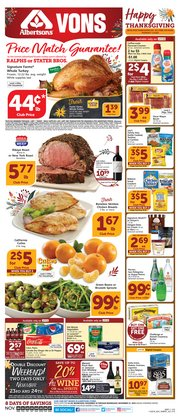 Grocery & Drug deals in the Albertsons weekly ad in Pomona CA