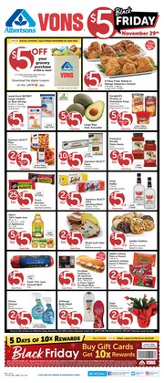 Albertsons deals in the Vista CA weekly ad