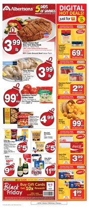 Grocery & Drug deals in the Albertsons weekly ad in Mesquite TX