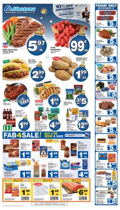 Albertsons deals in the Fort Worth TX weekly ad