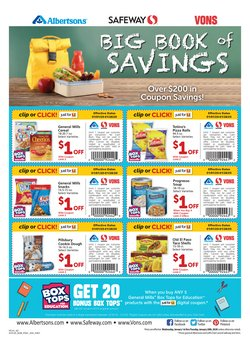 Albertsons deals in the Mesa AZ weekly ad