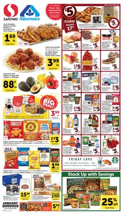 Albertsons deals in the Eugene OR weekly ad