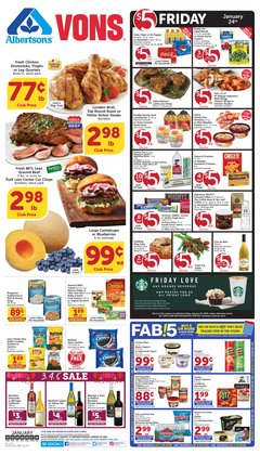 Grocery & Drug deals in the Albertsons weekly ad in San Pedro CA