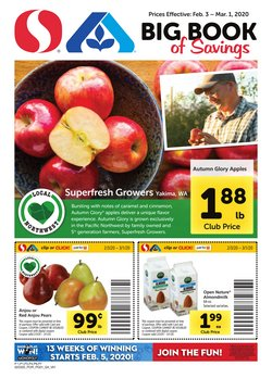 Grocery & Drug offers in the Albertsons catalogue in Grants Pass OR ( 9 days left )