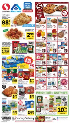Grocery & Drug offers in the Albertsons catalogue in Grants Pass OR ( 4 days left )