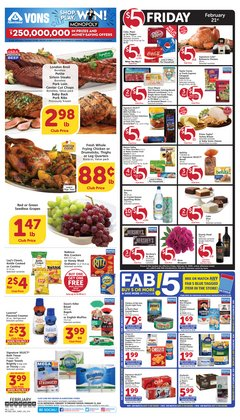 Albertsons catalogue in San Diego CA ( 3 days left )