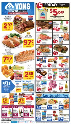 Grocery & Drug offers in the Albertsons catalogue in San Diego CA ( 3 days ago )