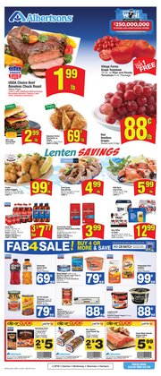 Albertsons catalogue in Garland TX ( 2 days left )