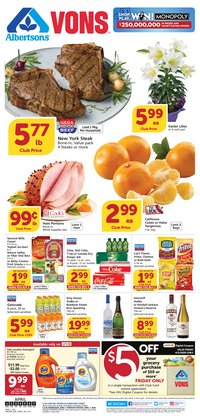 Grocery & Drug offers in the Albertsons catalogue in San Bernardino CA ( 3 days left )