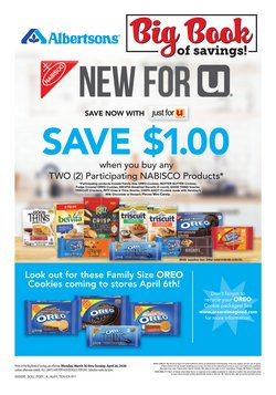 Grocery & Drug offers in the Albertsons catalogue in Dallas TX ( 1 day ago )