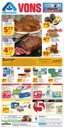 Grocery & Drug offers in the Albertsons catalogue in Carlsbad CA ( 1 day ago )