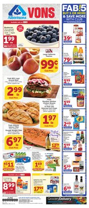 Grocery & Drug offers in the Albertsons catalogue in Chula Vista CA ( 4 days left )