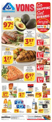 Grocery & Drug offers in the Albertsons catalogue in Pico Rivera CA ( Expires tomorrow )