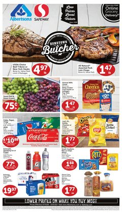 Grocery & Drug offers in the Albertsons catalogue in Henderson NV ( 2 days ago )