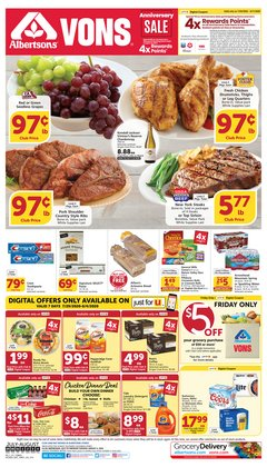 Grocery & Drug offers in the Albertsons catalogue in Ontario CA ( 2 days left )
