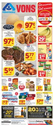 Grocery & Drug offers in the Albertsons catalogue in San Luis Obispo CA ( 4 days left )