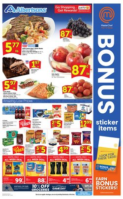 Grocery & Drug offers in the Albertsons catalogue in Mesquite TX ( 2 days left )