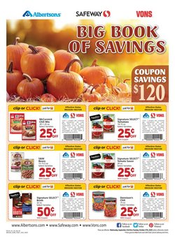 Grocery & Drug offers in the Albertsons catalogue in North Las Vegas NV ( More than a month )