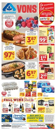 Grocery & Drug offers in the Albertsons catalogue in Rialto CA ( Expires tomorrow )