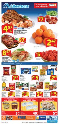 Grocery & Drug offers in the Albertsons catalogue in Richardson TX ( Expires today )