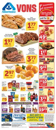 Grocery & Drug offers in the Albertsons catalogue in San Bernardino CA ( 7 days left )