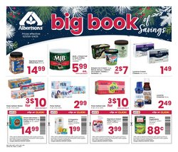 Albertsons catalogue ( More than a month )