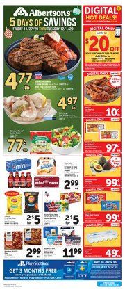 Grocery & Drug offers in the Albertsons catalogue in Mesquite TX ( Expires today )
