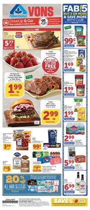 Grocery & Drug offers in the Albertsons catalogue in Redondo Beach CA ( 3 days ago )