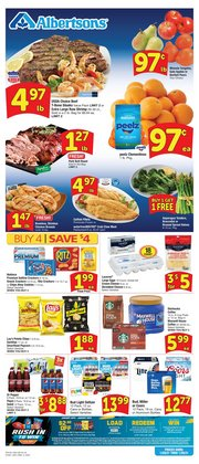 Grocery & Drug offers in the Albertsons catalogue in Baton Rouge LA ( 6 days left )