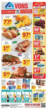 Grocery & Drug offers in the Albertsons catalogue in Redlands CA ( 4 days left )