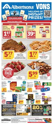 Albertsons catalogue ( 4 days left )