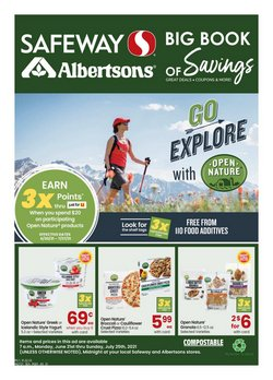 Grocery & Drug deals in the Albertsons catalog ( More than a month)