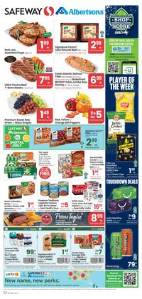 Grocery & Drug deals in the Albertsons catalog ( 3 days left)