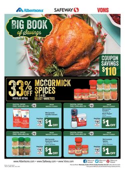 Grocery & Drug deals in the Albertsons catalog ( Published today)