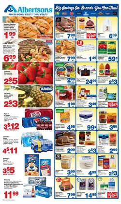 Albertsons deals in the 4S Ranch CA weekly ad