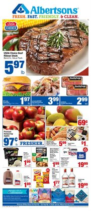 Albertsons deals in the Tucson AZ weekly ad