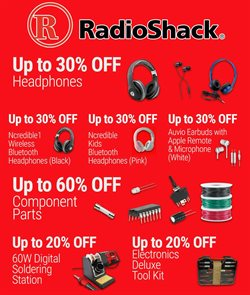 Electronics & Office Supplies deals in the RadioShack weekly ad in Miami FL