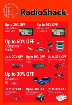 RadioShack deals in the New York weekly ad