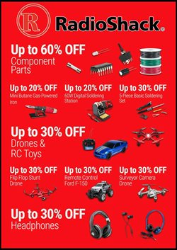 Electronics & Office Supplies deals in the RadioShack weekly ad in Johnstown PA
