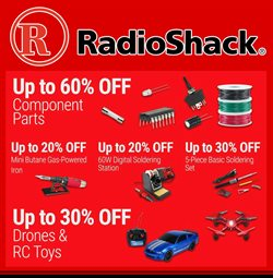 Electronics & Office Supplies deals in the RadioShack weekly ad in Los Angeles CA