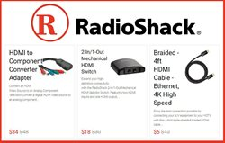 RadioShack deals in the Columbus NE weekly ad