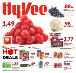 Water deals in the Hy-Vee weekly ad in Springfield MO