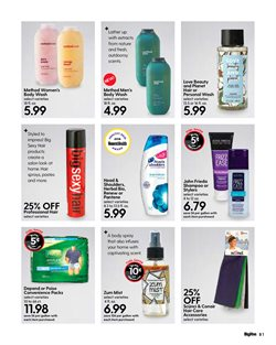 Shampoo deals in the Hy-Vee weekly ad in Springfield MO