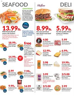 Frozen deals in the Hy-Vee weekly ad in Springfield MO